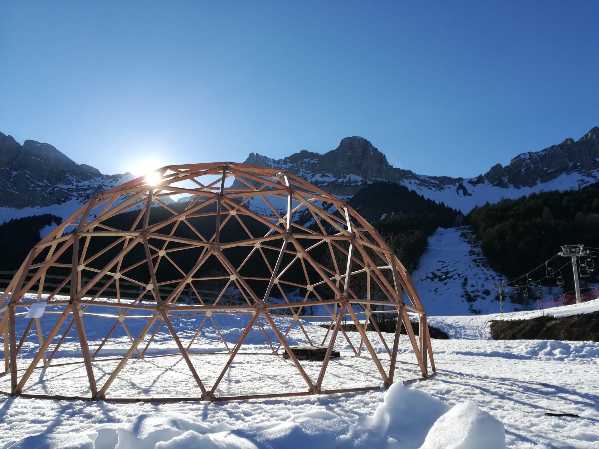structure dôme